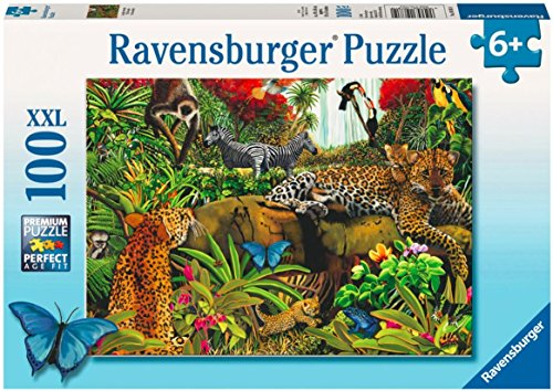 - Ravensburger Wild Jungle - 100 Piece Puzzle