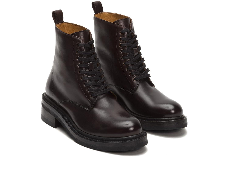 Frye 3478590 Women's Alice Combat Boot Dark Brown