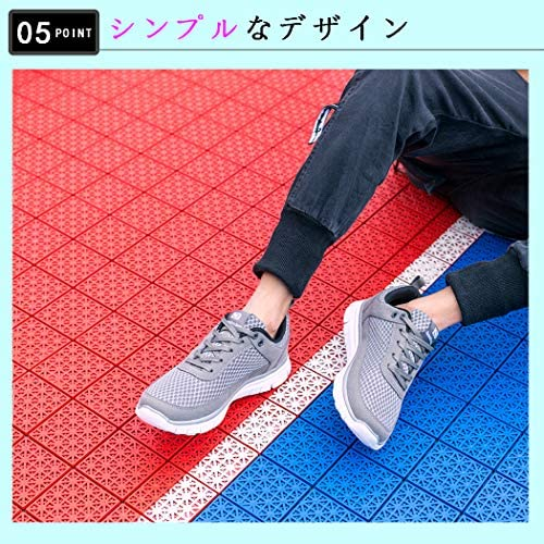 NDB 運動靴 スニーカー 防滑 ゴム 速乾 メンズ 蒸れない ランニングシューズ 25.0-30.0センチ くつ メッシュ 靴 クッション性
