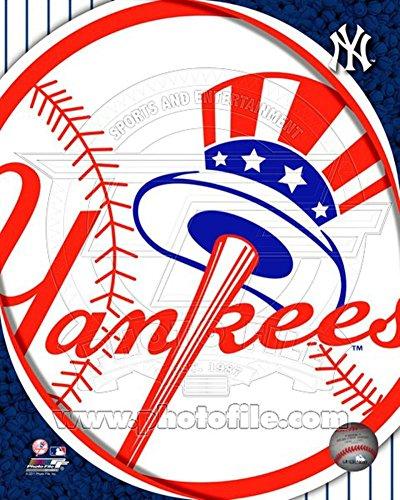 2011 New York Yankees Team Logo Photo 8 x (New York Yankees Team Pictures)
