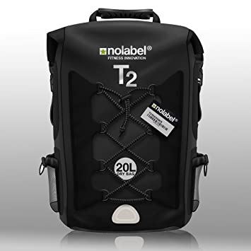 91dc0a6b979f NO LABEL Black Waterproof Rucksack - Sports Bike Backpack T2 Transition Bag  20 Litre Shoulder Bag