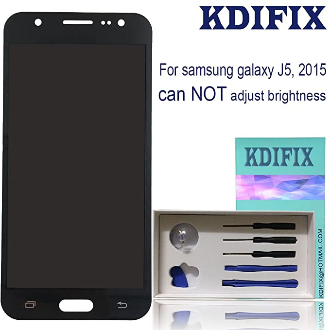 KDIFIX for Samsung Galaxy J5 2015 J500 J500M J500F J500Y J500H J500FN LCD  Touch Screen Assembly with Full Professional Repair Tools kit,NOT for 2016