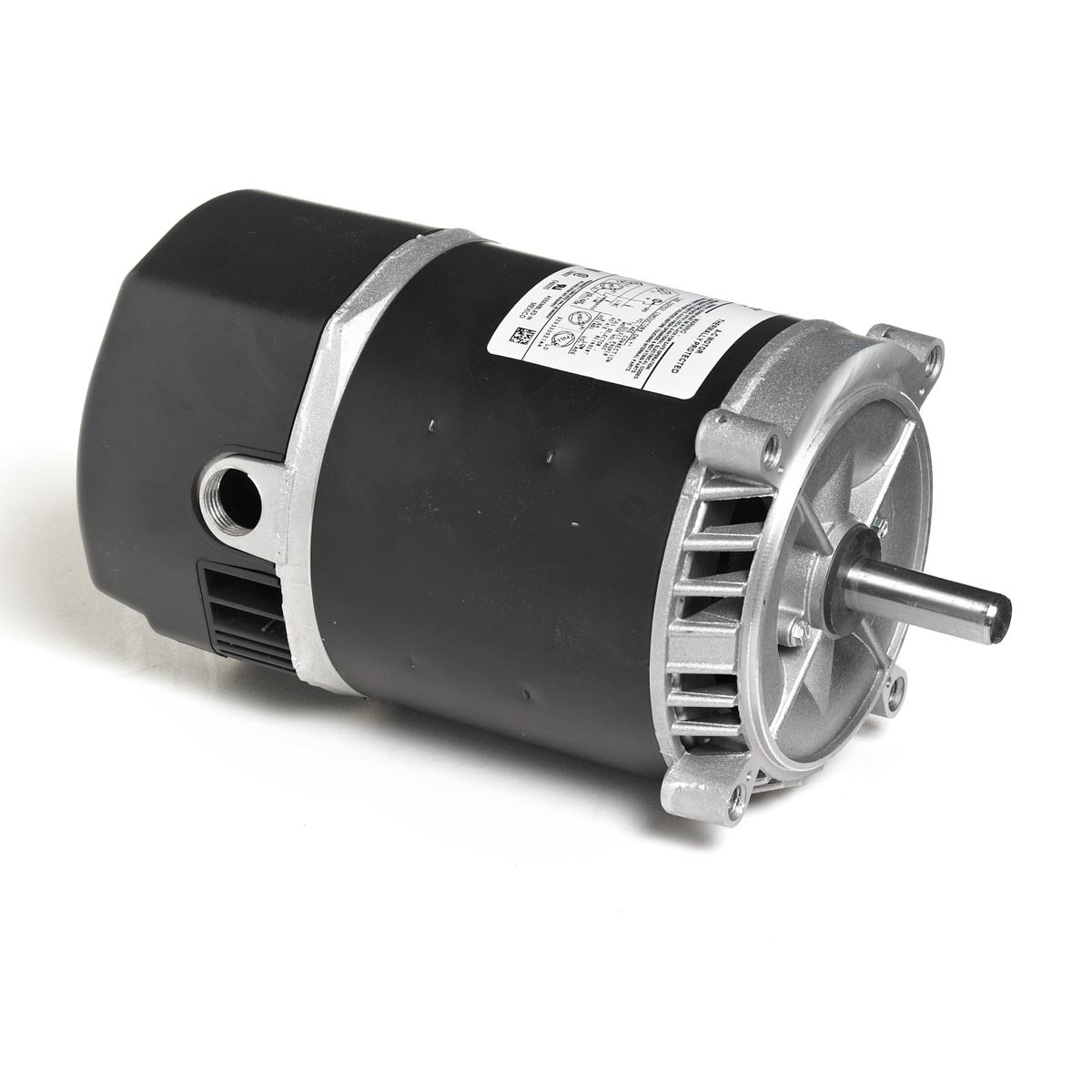 Marathon 5KC33MN2889X Two-Compartment Jet Pump Motor, 1 Phase, Open Drip Proof, C-Face, Ball Bearing, 3/4 hp, 3600 RPM, 1 Speed, 115/230 VAC, 56J Frame, Capacitor Start/Run