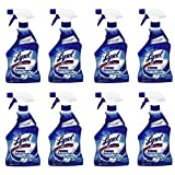 Lysol Power Bathroom Cleaner Spray, 28oz (8 pack)