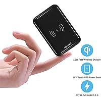 Hokonui 10000mAh Mini Portable Power Bank with High-Speed 18W PD 3.0, QC 3.0 Port and LCD Display