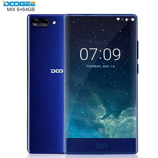 22 opinioni per DOOGEE MIX- 6 GB + 64 GB Smartphone 4G 5.5 Pollici- Super AMOLED- Android 7.0-