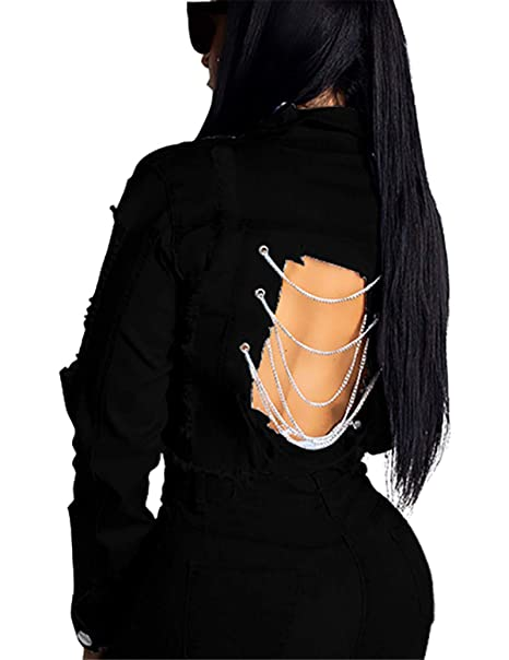 Amazon.com: Pantalones vaqueros ajustados para mujer estilo ...