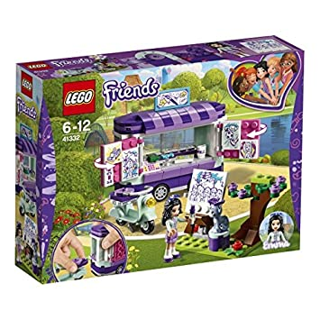LEGO UK 41332 Friends Emma's Art Stand Cool Toy for Kids: Amazon.co ...