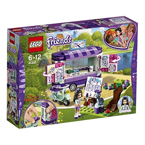 LEGO Friends 41332 - Emmas rollender Kunstkiosk, Cooles Kinderspielzeug LEGO®