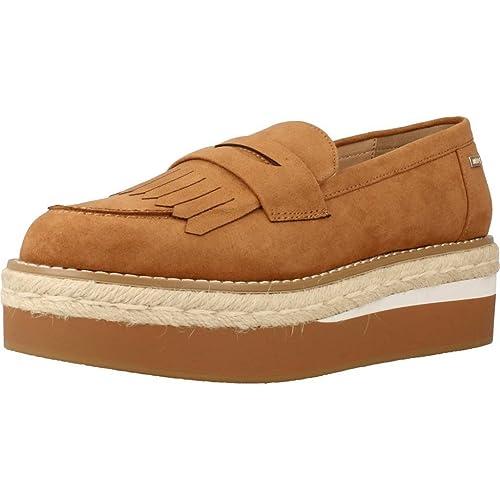 Mocasines para Mujer, Color Hueso, Marca MTNG, Modelo Mocasines para Mujer MTNG 51633M Hueso: Amazon.es: Zapatos y complementos