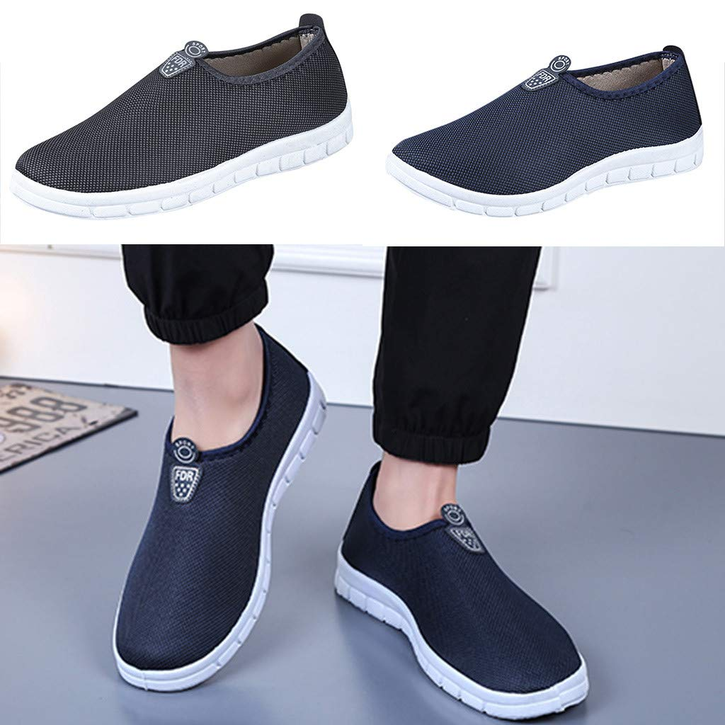 Men's Slip-On Shoes - Sport Sneakers Comfortable Footwears Loafers Shoes,2019 New by MEN SHOES BIG PROMOTION-SUNSEE (Image #6)