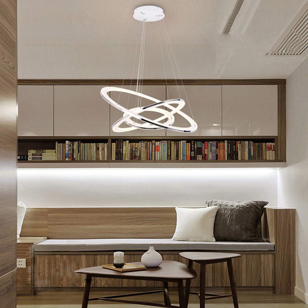 Moderne LED Pendelleuchte Esstisch 148W Led 3-Ring LED