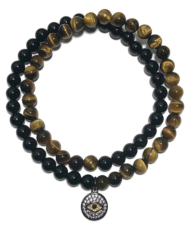 Amazon.com: Evil Eye Charm Bracelet | PROTECTION ...