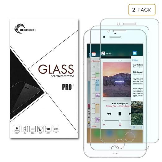 4 opinioni per Pellicola protettiva per schermo iPhone X, CHEREEKI 2-pack proteggi schermo in