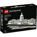 LEGO Architecture - Edificio del capitolio de Estados Unidos, juegos de construcción (21030)