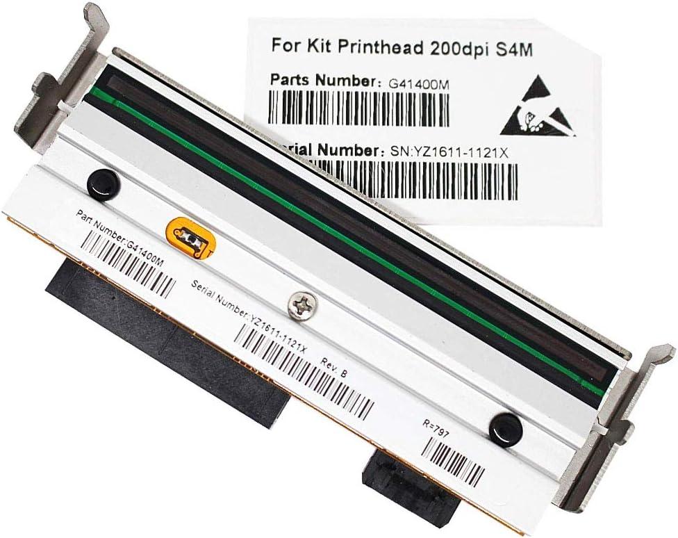 New Printhead for Zebra S4M Barcode Coated Label Printer 200dpi P//N G41400M