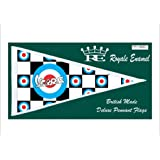 ROYALE ENAMEL CAR SCOOTER MOD ANTENNA PENNANT FLAG VESPA SUPER ACCESSORIES FP1.0010