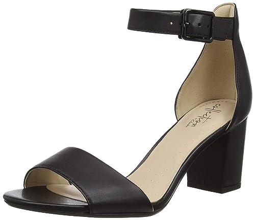 ebc9cffa Clarks Deva Mae, Zapatos con Tacon y Correa de Tobillo para Mujer:  Amazon.es: Zapatos y complementos