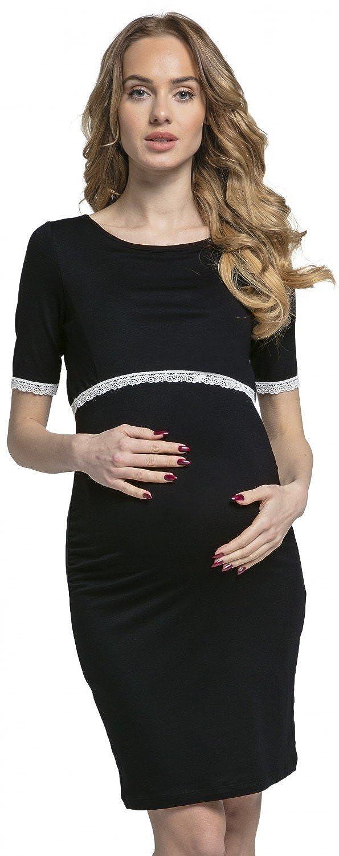 Happy Mama. Donna Vestito prémaman l'allattamento Abito Dettagli In Pizzo.064p nursingdress_064