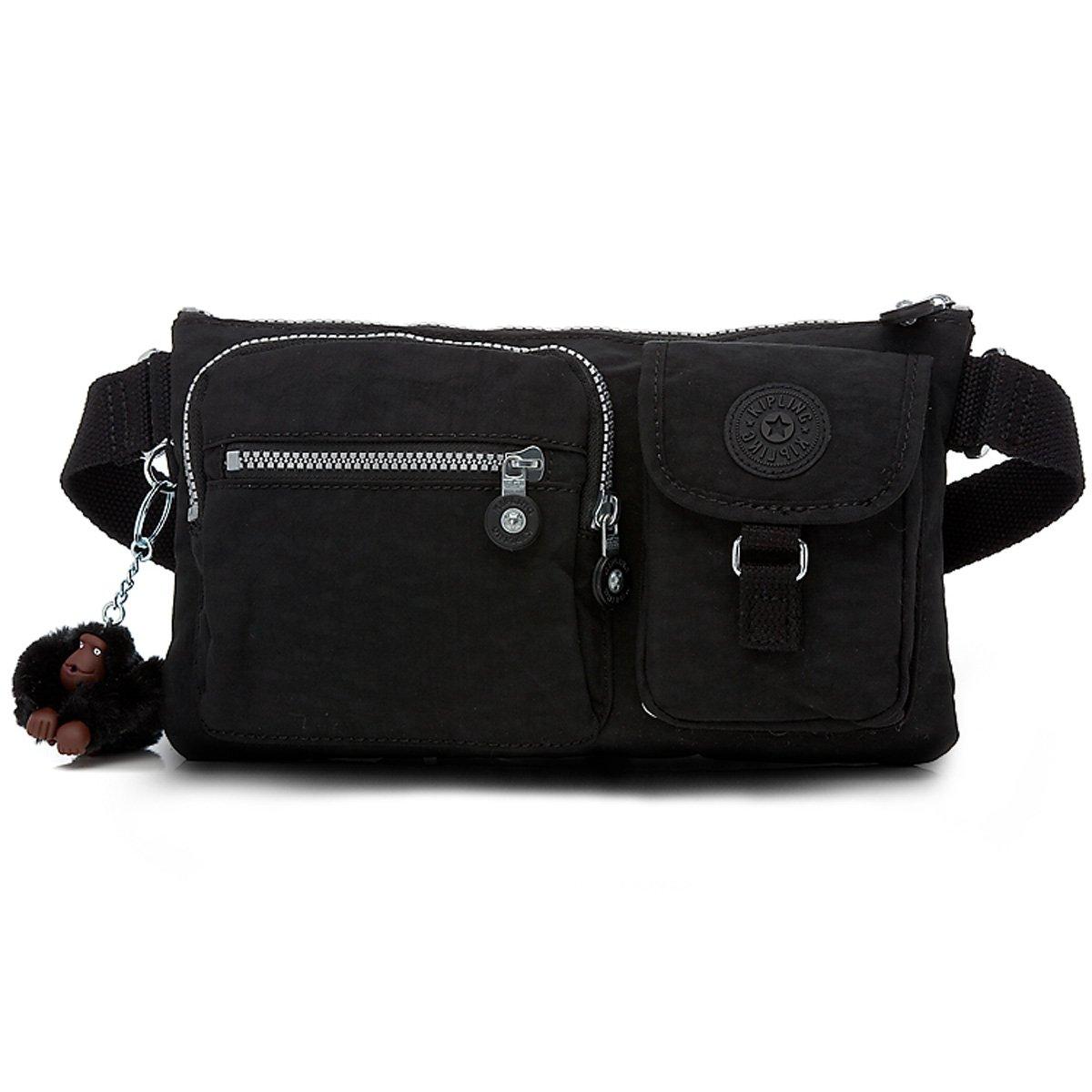 Kipling Luggage Presto Waistbag, Black, One Size Vanity Fair Brands LP - Kipling AC3397