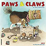 Gary Patterson s Paws n Claws 2019 Wall Calendar