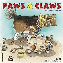 gary pattersons dogs wall calendar 2019