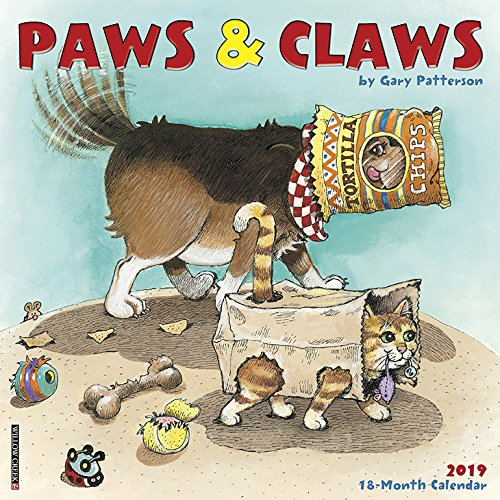 Gary Patterson's Paws n Claws 2019 Wall Calendar by Willow Creek Press