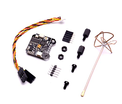 FPVKing FPV Transmitter 5 8Ghz 40CH 25mW/200mW Switchable VTX Integrated  OSD 20mm x 20mm Compatible with PIKO BLX Flight Controller