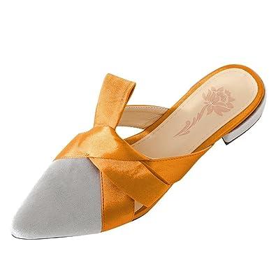 MissSaSa Damen Spitz Slingback Pantoffeln  Amazon.de  Schuhe ... bfe12a8ee7