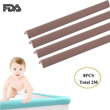 Protector de borde de mesa para bebés y niños a prueba de bordes ...