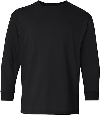 GILDAN Childrens//Kids Big Boys Performance Youth Long Sleeve T-Shirt