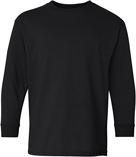 Gildan Heavy Cotton Youth 5.3 oz Long-Sleeve T-Shirt