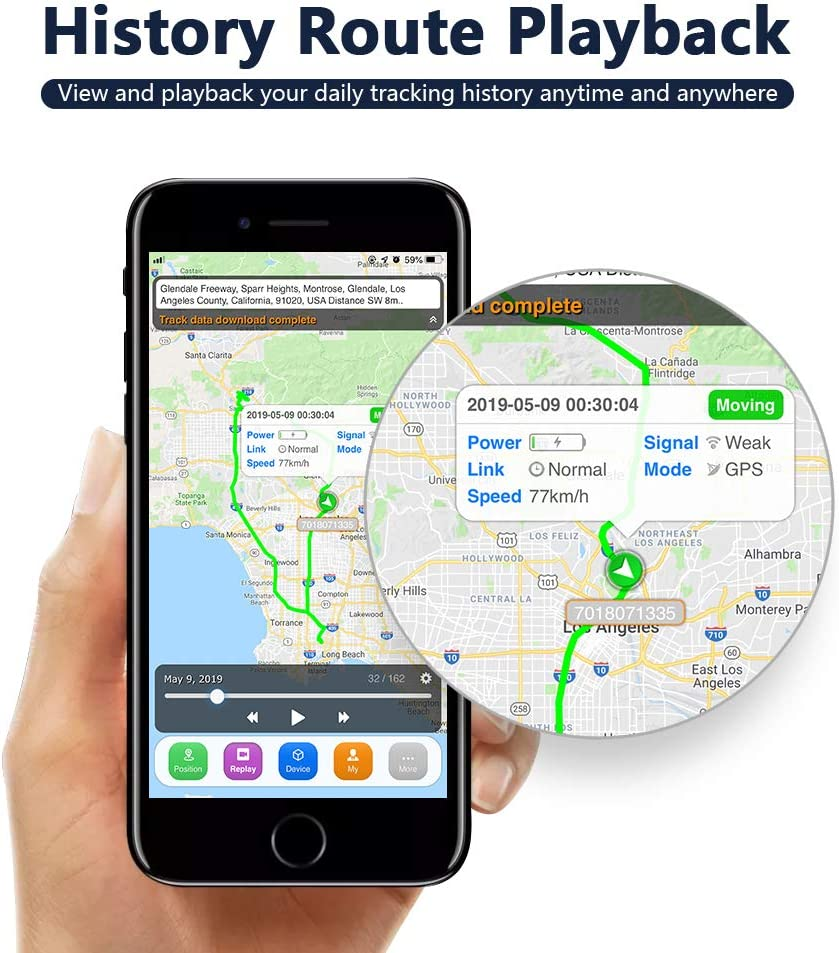 SinoTrack ST-901 3G GPS Tracker for Vehicles,Anti Lost Alarm Locator Mini Real-Time Location Vehicle Device,Waterproof Car Motorcycle GPS Tracking Device for Truck Taxi,Support Free Platform Lifetime