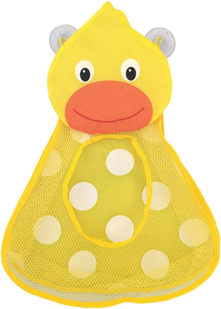 Egosy Baby Bath Tub Toy Mesh Cartoon Storage Bag Large Capacity Bath Toy Holder