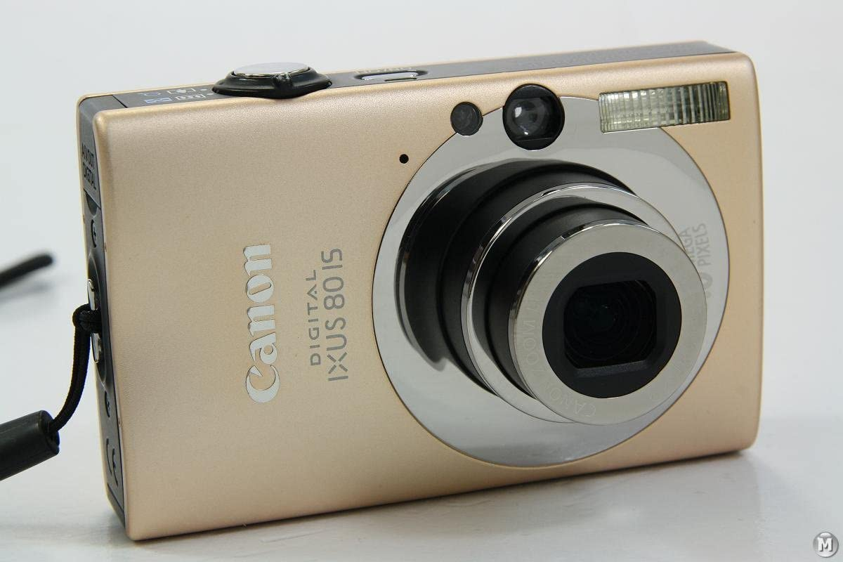 Canon Digital Ixus 80 Is Digitalkamera Caramel Kamera