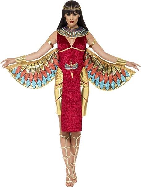 Donna Halloween travestimento da regina egizia dea costume outfit  Amazon.it   Abbigliamento 856b3a50f09b
