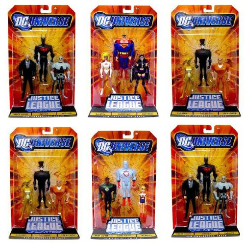 - DCU JLA Fan Collection Case of 6 Warhawk Cheetah, Bruce Wayne, The Shade and more!