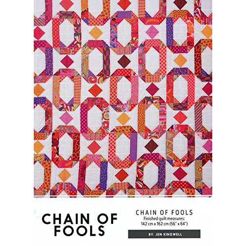 Jen Kingwell - Chain of Fools - Quilt covid 19 (Chain Quilt Pattern coronavirus)
