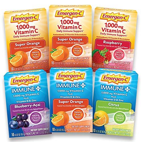 Emergen C Multi Flavor Vitamins Antioxidants Electrolytes
