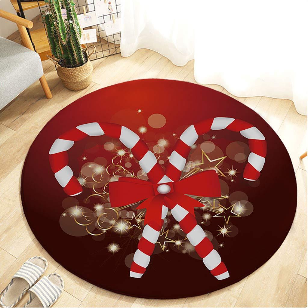 1KTon Christmas Carpet Kitchen Doorway Bathroom Floor Carpet Floor Mat Print 60cm by 1KTon