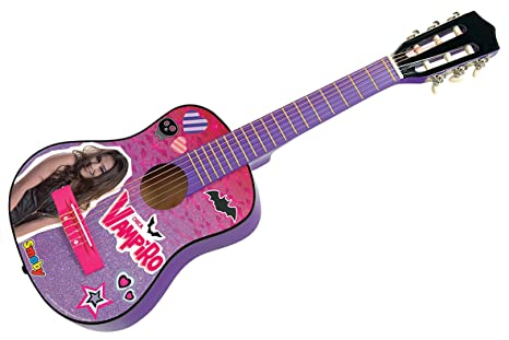 Smoby 510103 – chica vampiro guitarra acústica