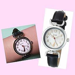 Amazon J アクシス 腕時計 アンティークアニマルアイコンウォッチ Hl194 Iv クリーム レディース腕時計 腕時計 通販