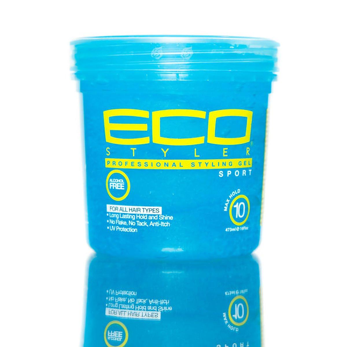 [ECO STYLER] PROFESSIONAL STYLING GEL SPORT MAXIMUM HOLD 16OZ BLUE Ecoco Inc.
