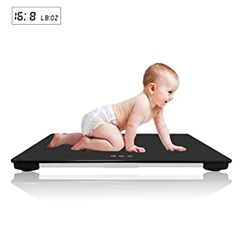 Amazon Com Isnow Med Digital Baby Scale With Capacity Of 220 Lbs  C2 B Oz Suitable For Baby Pets Kg Lb Lboz 65x45cm Baby