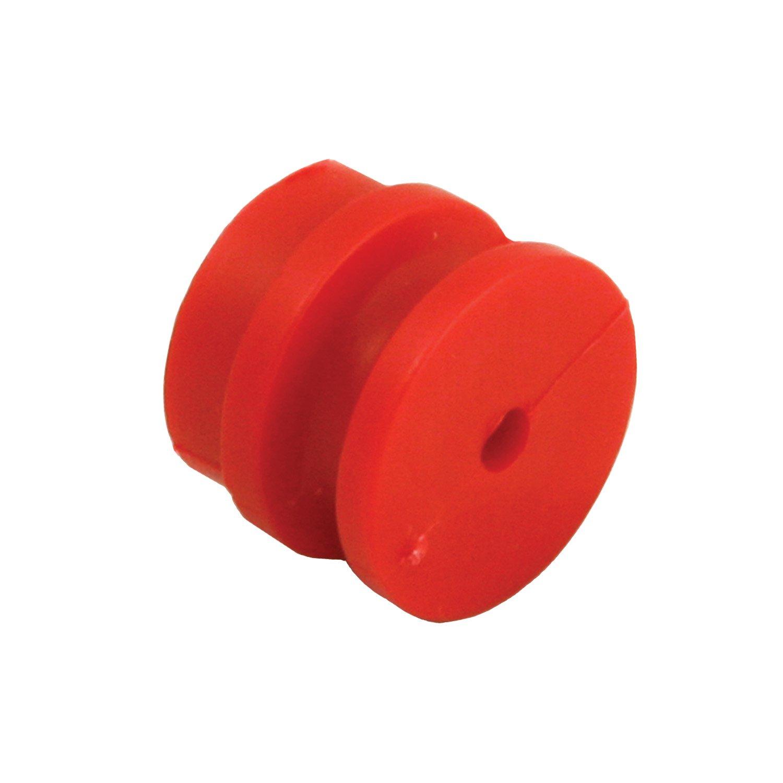 Rutland 15-131R Paquet de 50 isolateurs en bobine pour poteaux en bois