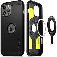 Spigen iPhone 12/12 Pro Case Tough Armor Mag - Black