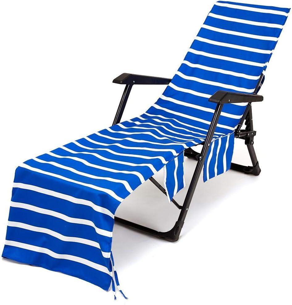 Tumbona Toalla Funda Ligera Toalla Hielo Fr/ío para Piscina Multifuncional Microfibra Sol Vacaciones Al Aire Libre Tomar El N//P Funda De Silla Playa
