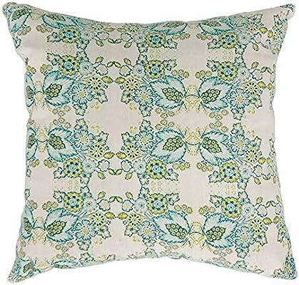 Amazon.com: Eva contemporáneo pequeña almohada con acabado ...