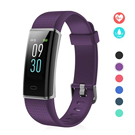 EFOSHM Pulsera de Actividades Inteligente Mujer Hombre Pantalla Color Reloj Deportivo Fitness Tracker Monitor de Ritmo