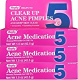 medication Benzoyl Peroxide 5 % Generic for Oxy Balance Acne Medication Gel 1.5 oz 3 PACK